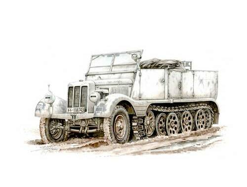 Special Hobby Sd.Kfz. 11 Leichter Zugkraftwagen 3t Special armour 1:72 (72002)