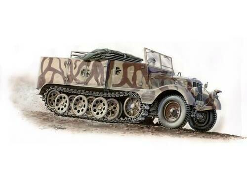 Special Hobby SdKfz 11/4 Nebelkraftwagen 1:72 (72004)