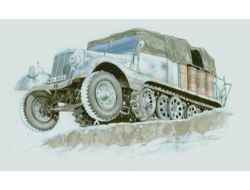 Special Hobby Sd.Kfz. 11/2 Entgiftungskraftwagen 1:72 (72010)