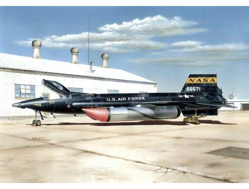 Special Hobby X-15A-2 with Ground Dolly 1:32 (32031)