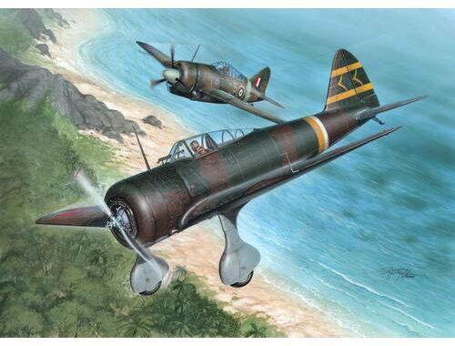 Special Hobby Ki-27 Otsu Nate Over Malaya   Philipp. 1:32 (32040)