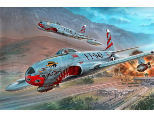 """Special Hobby F-80C """"over Korea"""" 1:32 (32048)"""