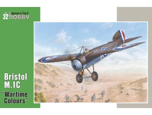 """Special Hobby Bristol M.1C""""Wartime Colours"""" 1:32 (32057)"""
