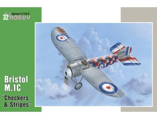 "Special Hobby Bristol M.1C""Checkers   Stripes"" 1:32 (32060)"