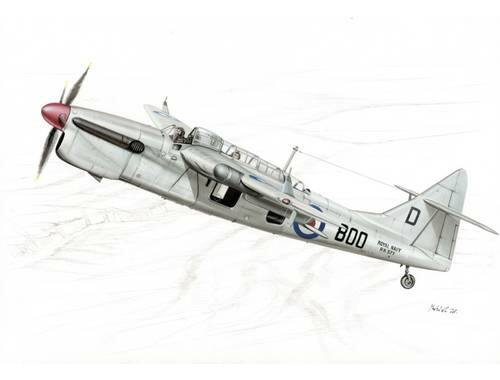 Special Hobby Fairey Barracuda Mk. 5 1:48 (48069)