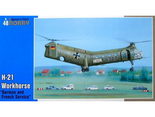 Special Hobby H-21 Workhorse 'German   French Marking' 1:48 (48088)