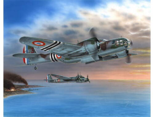 "Special Hobby Model 167F ""Glenn over French 1940/45"" 1:48 (48114)"