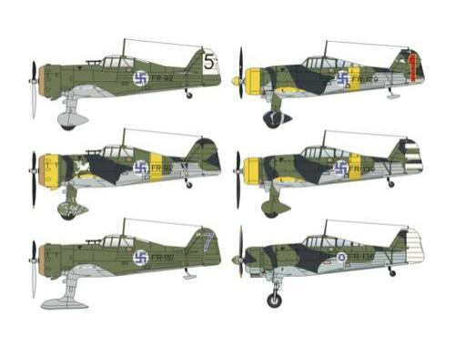 "Special Hobby Fokker D.XXI Duo Pack ""3.sarja 4.sarja 1:48 (48124)"