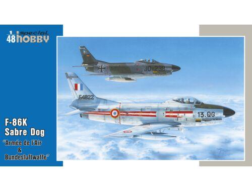 Special Hobby F-86K Armés de l`Air   Bundesluftwaffe 1:48 (48126)