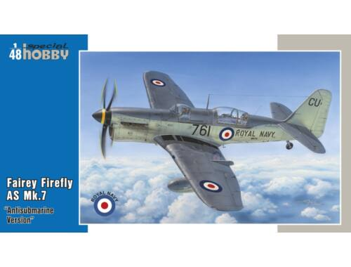 Special Hobby Fairey Firefly AS Mk.7 Antisubmarine Vs. 1:48 (48130)