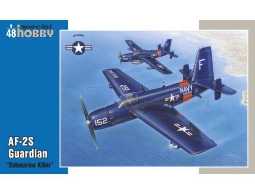 """Special Hobby AF-2S Guardian """"Submarine Killer"""" 1:48 (48135)"""