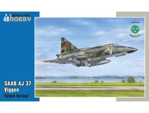 Special Hobby SAAB AJ-37 Viggen Attack Version 1:48 (48148)