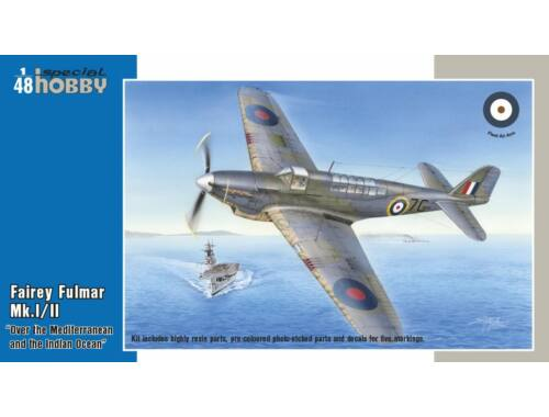 Special Hobby Fairey Fulmar Mk.I/II Hi-Tech version 1:48 (48157)