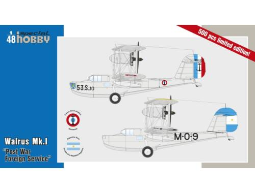 Special Hobby Walrus Mk.I Post War Foreign Service 1:48 (48164)