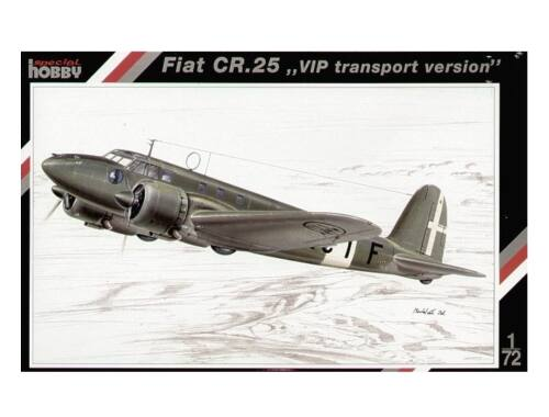 Special Hobby Fiat Cr. 25 '' VIP transport version'' 1:72 (72089)