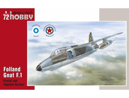Special Hobby Folland Gnat F.Mk.I Finnish a.Yugoslav S 1:72 (72137)