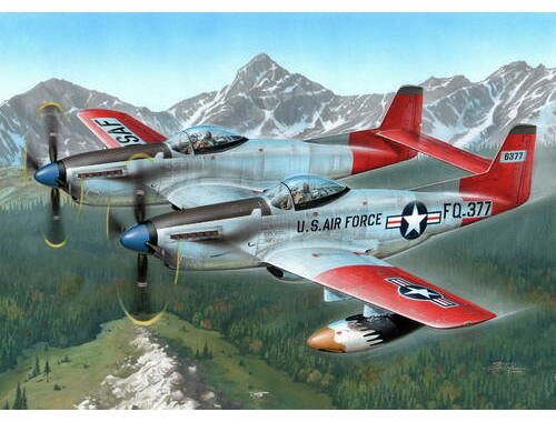 "Special Hobby F-82H TwinMustang ""Alas. All Weather F."" 1:72 (72203)"