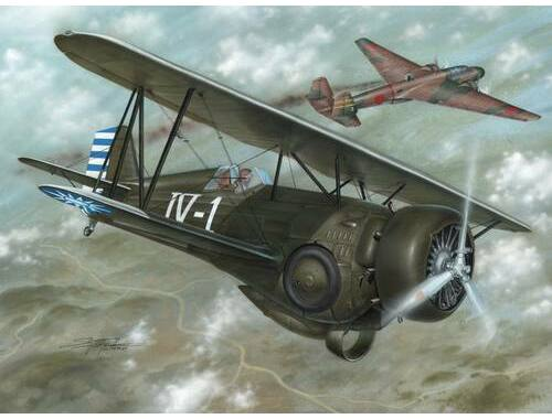 Special Hobby Model 68 Hawk III First Chinese Ace 1:72 (72223)