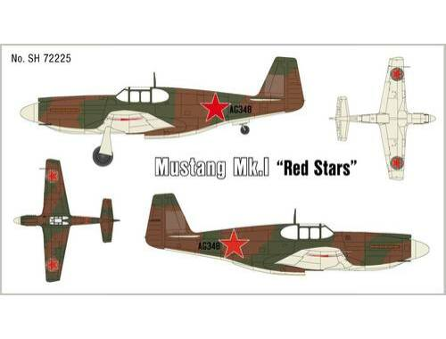 Special Hobby Mustang Mk.1 Red Stars 1:72 (72225)