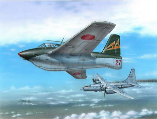 Special Hobby Messerschmitt Me 163C What If War 1:72 (72263)