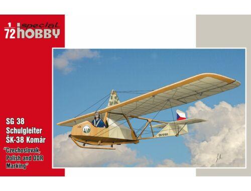 Special Hobby SG 38 Schulgleiter/SK-38 Komár Czechoslo 1:72 (72269)
