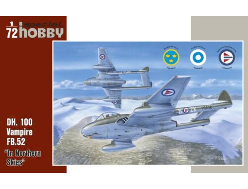 Special Hobby DH Vampire FB MK.52 Over Nortern Sky 1:72 (72281)