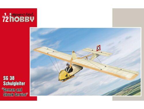 Special Hobby SG 38 Schulgleiter German and Slovak Ser 1:72 (72319)