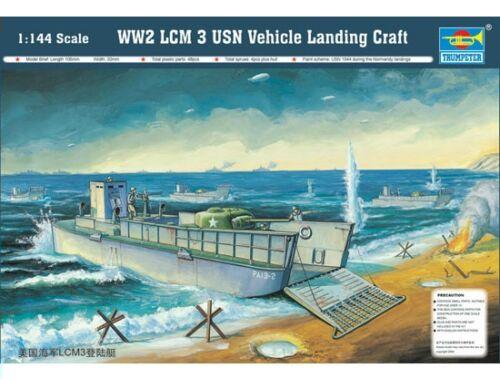 Trumpeter LCM 3 USN Vehicle Landing Craft 1:144 (102)