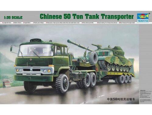 Trumpeter Chinesischer 50-t-Panzertransporter 1:35 (00201)