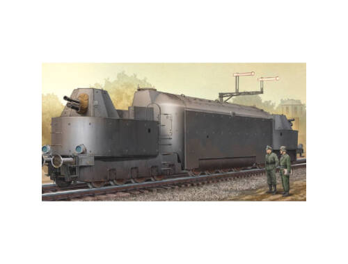 Trumpeter German Armored Train Panzertriebwag.Nr16 1:35 (223)