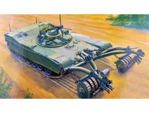 Trumpeter M1 Panther II Mineclearing Tank 1:35 (346)