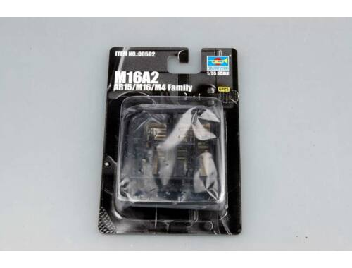 Trumpeter AR15/M16/M4 FAMILY-M16A2 (6 units) 1:35 (502)