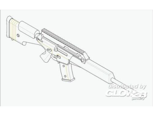 Trumpeter German Firearms Selection-SL8 2II(6guns) 1:35 (522)