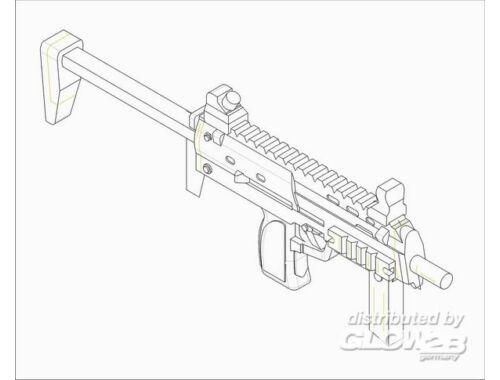 Trumpeter German Firearms Selection-MP7 (6 guns) 1:35 (523)