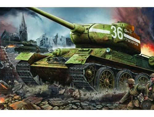 Trumpeter T-34/85 1944 Factory No.183 1:16 (902)