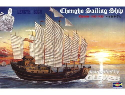 Trumpeter Chinesische Dschunke Chengho 1405-1430 1:60 (01202)