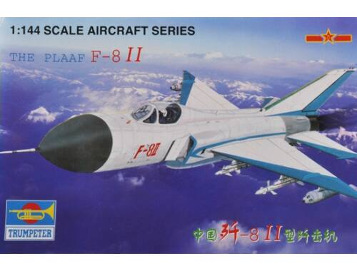 Trumpeter F-8 II China the Plaaf The Plaaf 1:144 (1328)