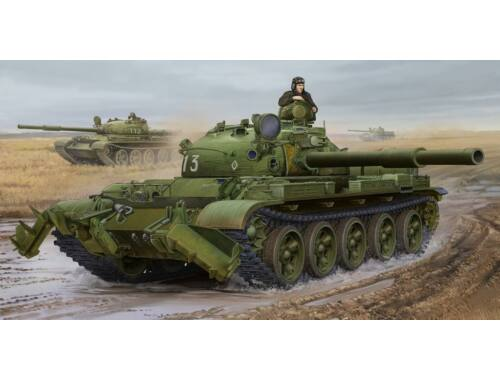 Trumpeter Russian T-62 Mod.1975-KMT-6 Mine Plow 1:35 (01550)
