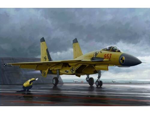 Trumpeter Chinese J-15 with flight deck 1:72 (01670)