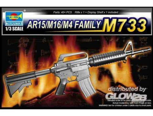 Trumpeter AR15/M16/M4 Family-M733 1:3 (1906)