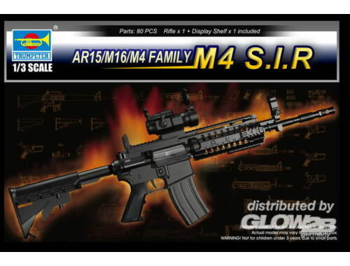 Trumpeter AR15/M16/M4 Family-M4 S.I.R. 1:3 (1916)