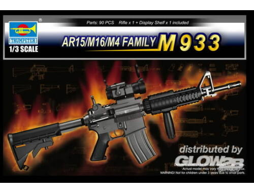 Trumpeter AR15/M16/M4 FAMILY-M933 1:3 (1917)