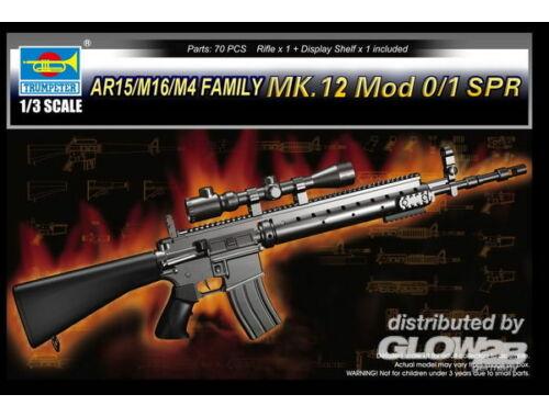 Trumpeter AR15/M16/M4 FAMILY-MK.12 Mod o/1 SPR 1:3 (1918)