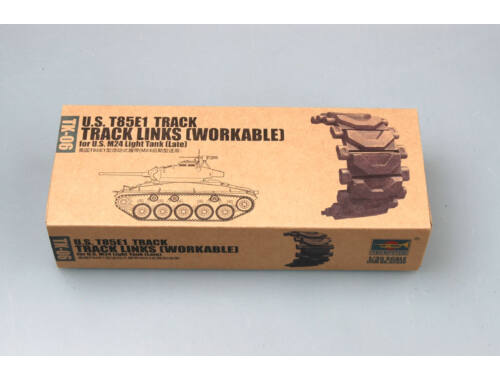 Trumpeter U.S. T85E1 Workable track for M24 light tank (late) 1:35 (2036)