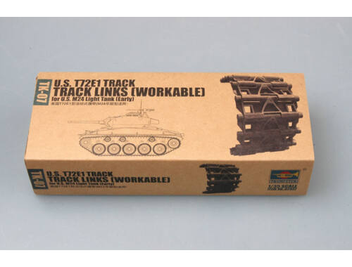 Trumpeter U.S. T72E1 M24 (early) Workable track 1:35 (2037)