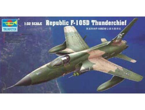 Trumpeter Republic F-105 D Thunderchief 1:32 (02201)