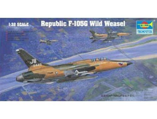 Trumpeter Republic F-105 G Wild Weasel 1:32 (2202)