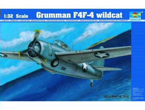 Trumpeter Grumman F4F-4 Wildcat 1:32 (02223)