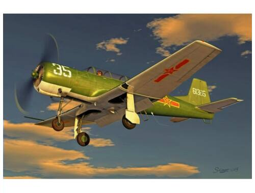 Trumpeter China Nanchang CJ-6 1:32 (02240)