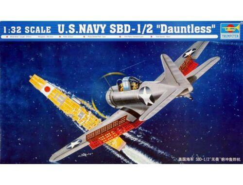 Trumpeter SBD-1/2 Dauntless US Navy 1:32 (2241)
